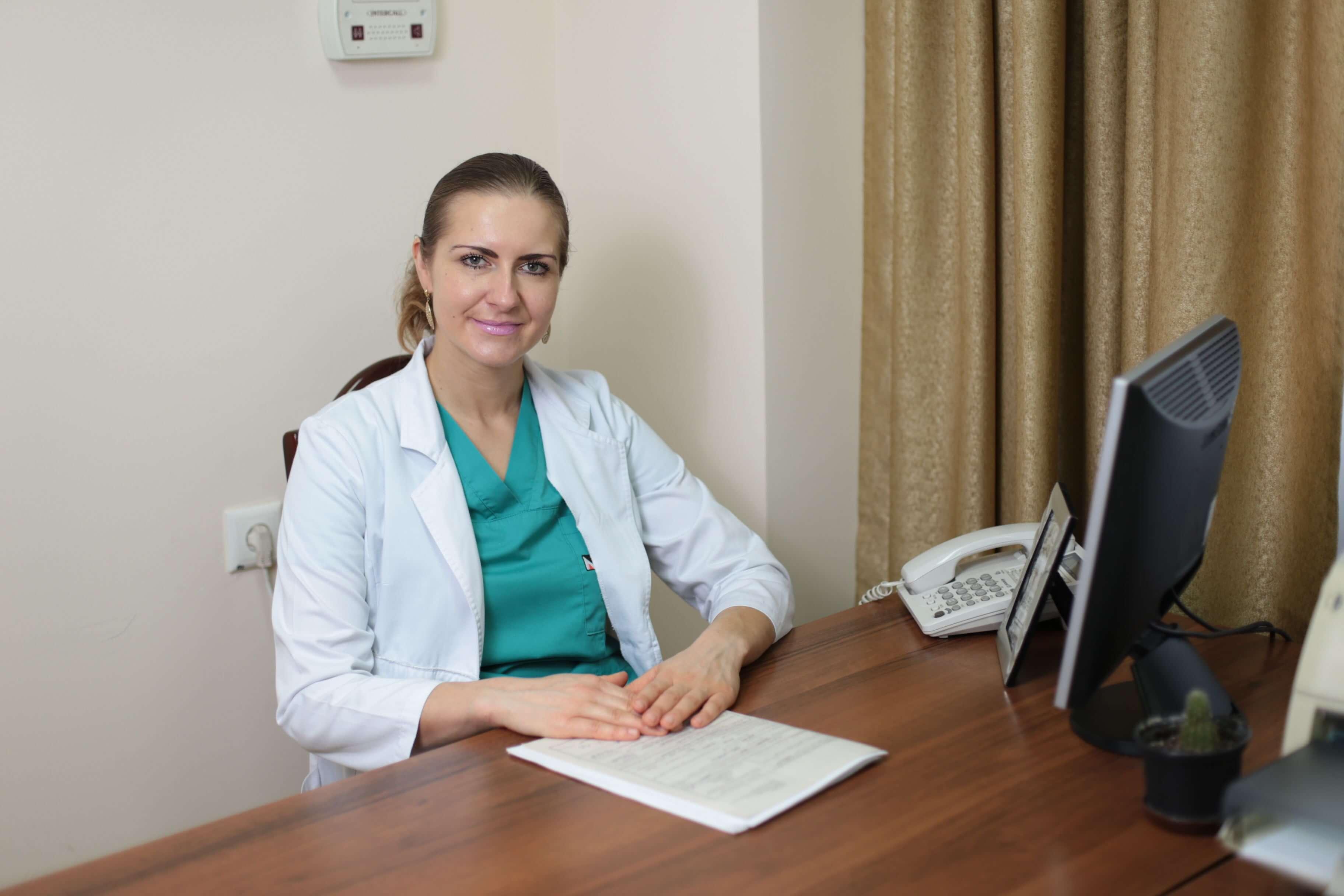 Проктолог, хірург Копецька Анастасія Миколаївна